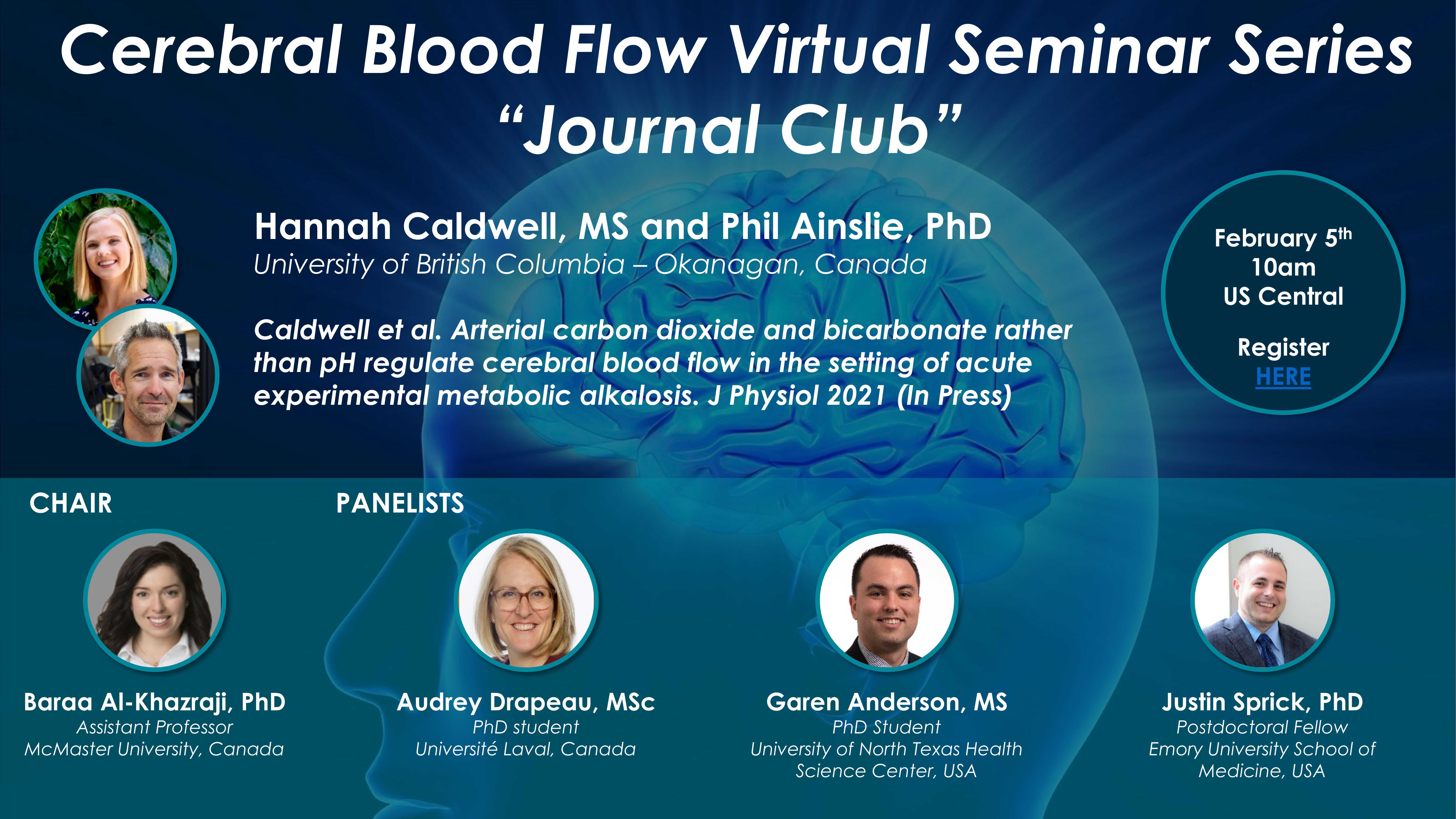 February 5 CBF VSS Journal Club session
